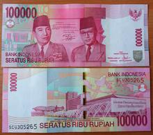 Indonesia 100000 Rupiah 2011 UNC - Indonésie