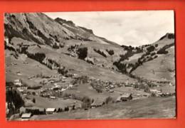 TRN-16 Château-d'Oex  Vue Générale. Rouge 4158. Non Circulé - VD Vaud