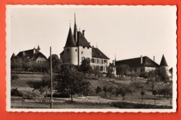 TRN-17 Avenches Et Le Château Visa Censure ACF 1939. Perrochet Non Circulé - VD Vaud