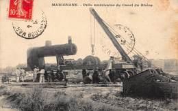 CPA MARIGNANE - Pelle Américaine Du Canal Du Rhône - Marignane