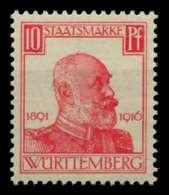 WÜRTTEMBERG DIENST Nr 243 Postfrisch Gepr. X70C2A2 - Wurtemberg