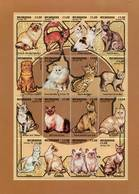 Lote 2065, Nicaragua, 1994, Pliego, Sheet, Gatos. Domestic Cat - Nicaragua