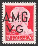 Italy - Scott #1LN1A Unused - No Gum - Venezia Giulia - Anglo-american Occ.: Naples