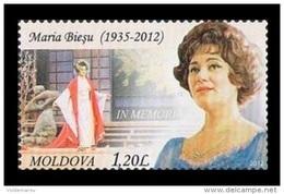 Moldova 2012 Mih. 813 Music. Opera Singer Maria Biesu MNH ** - Moldova