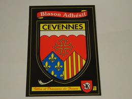 Blason écusson Adhésif Autocollant Cévennes 3 - Obj. 'Souvenir De'