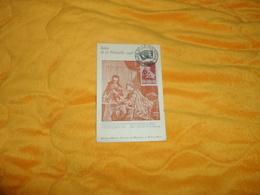 CARTE POSTALE ANCIENNE SALON DE LA PHILATELIE DE 1946. / CACHET PARIS + TIMBRE. - Maximum Cards
