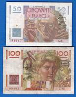 France  2  Billets - Zonder Classificatie