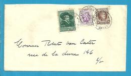 196+281+300 Op Brief Stempel ANTWERPEN - Belgium
