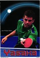 Tennis Table Ping Pong - Jean Philippe Gatien - Yasaka - Table Tennis