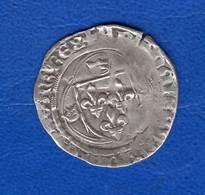Charles Vii  Blanc  A  La  Couronne - 987-1789 Monnaies Royales