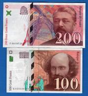 2  Billets - 200 F 1995-1999 ''Eiffel''