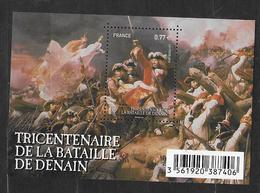 France 2012 Bloc Feuillet N° F4660 Neuf Bataille De Denain à La Faciale - Bloc De Notas & Hojas