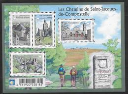 France 2013 Bloc Feuillet N° F4725 Neuf Chemins De St Jacques De Compostelle à La Faciale - Blocs & Feuillets
