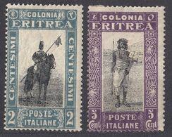 ERITREA (colonia Italiana) - 1930 -  Lotto Di 2 Valori Nuovi MH Yvert 144 E 145. - Eritrea