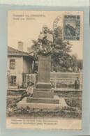 CPA BULGARIE -GRUSS  Von  SISTOV  Denkmal Des Schriftstellers  Aleko Konstantinoff      Jan 2019 1058 - Bulgarien