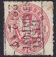 GERMANIA PREUSSEN - Yvert 17 Usato,  1 S, Rosa. - Prussia