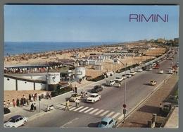 V7855 RIMINI LUNGOMARE E SPIAGGIA VG (m) - Rimini