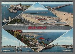 V7859 RIMINI VEDUTE ACQUERELLATA VG (m) - Rimini