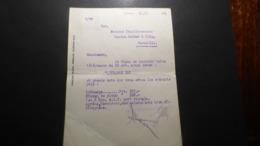 CAMP DE PRISONNIER ALLEMAGNE  DIRECTIVES STALAG 14 ADRESSEES COMITE SECOURS PRISONNIERS JAUJAC ARDECHE   BON ETAT - Historical Documents