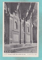 Small Post Card Of The Bracket Of Birbal House Fatehpore,Sikri,Agra,India,Q98. - India