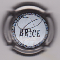 Capsule Champagne BRICE ( 15 , Contour Gris ) {S04-19} . - Champagne