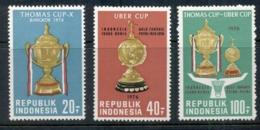 Indonesia 1976 Badmington Thomas Cup MUH - Indonesia