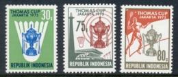 Indonesia 1973 Badmington Thomas Cup MUH - Indonesia