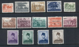 Indonesia West Irian 1963 Opts . On Views & Sukarno MUH - Indonesia