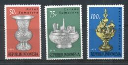 Indonesia 1975 Artistic Metalware MUH - Indonesia