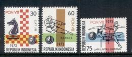 Indonesia 1973 National Sports Week MUH - Indonesia