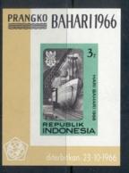 Indonesia 1966 Maritime Day MS MUH - Indonesia