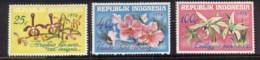 Indonesia 1976 Flowers, Orchids MUH - Indonesia