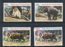 Indonesia 1977 Wildlife Protection MUH - Indonesia