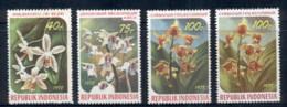 Indonesia 1978 Flowers Orchids MUH - Indonesia