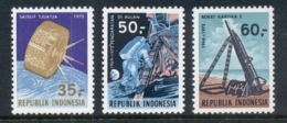 Indonesia 1972 Space Achievements MUH - Indonesia