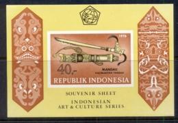 Indonesia 1976 Historic Daggers & Sheaths MS IMPERF MUH - Indonesia