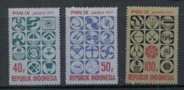Indonesia 1977 National Sports Week MUH - Indonesia
