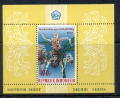 Indonesia 1977 Flowers, Orchids MS Perf MUH - Indonesia