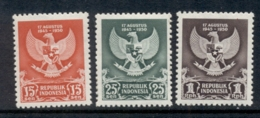 Indonesia 1950 Independence MUH - Indonesia
