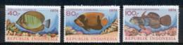 Indonesia 1974 Marine Life Fish MUH - Indonesia