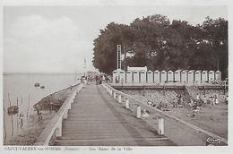 80)   SAINT  VALERY En SOMME -  Les Bains De La Ville - Saint Valery Sur Somme