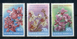 Indonesia 1975 Flowers, Orchids MUH - Indonesia
