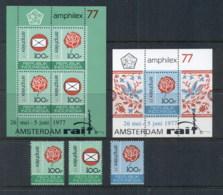 Indonesia 1977 Amphilex + 2x MS Perf MUH - Indonesia
