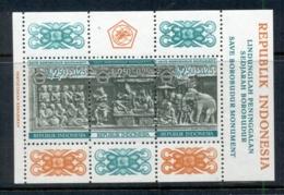 Indonesia 1968 Borobudur Temple Fund MS MUH - Indonesia