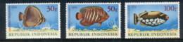 Indonesia 1972 Marine Life Fish MUH - Indonesia