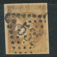 N°43 BORDEAUX NUANCE ET OBLITERATION. - 1870 Bordeaux Printing