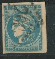 N°45 BORDEAUX NUANCE ET OBLITERATION. - 1870 Uitgave Van Bordeaux