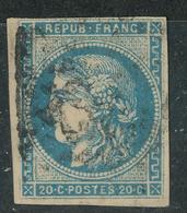 N°45 BORDEAUX NUANCE ET OBLITERATION. - 1870 Bordeaux Printing
