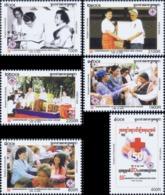 50 Years Cambodian Red Cross -PERFORATED- (MNH) - Kambodscha