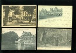 Lot De 60 Cartes Postales De France  Fontainebleau   Lot Van 60 Postkaarten Van Frankrijk ( 77 ) - 60 Scans - Postcards